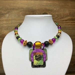 Jewelry - Eclectic Art Bead Collar Necklace